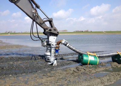Maschine für den Wasserbau